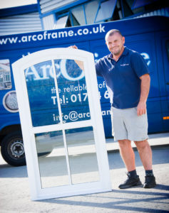 Vertical Sliders Presented by ArcOframe Delivery Driver