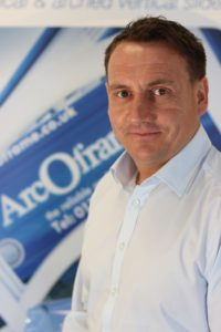 Co Owner of ArcOframe Charlie Richards