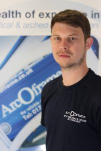 Team Member John at ArcOframe's Customer Services Team
