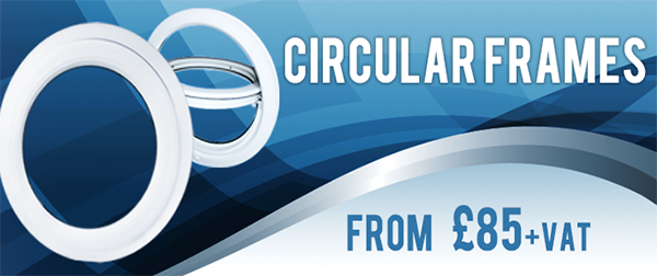Circular Window Frames Banner with price