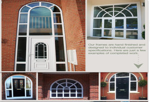 Composite Doors and Arched Windows Product Details and Examples
