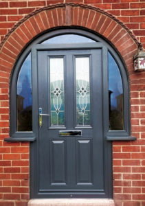 Arched Composite Doors Installed By ArcOframe