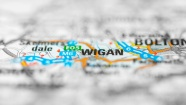 Wigan Map - ArcOframe